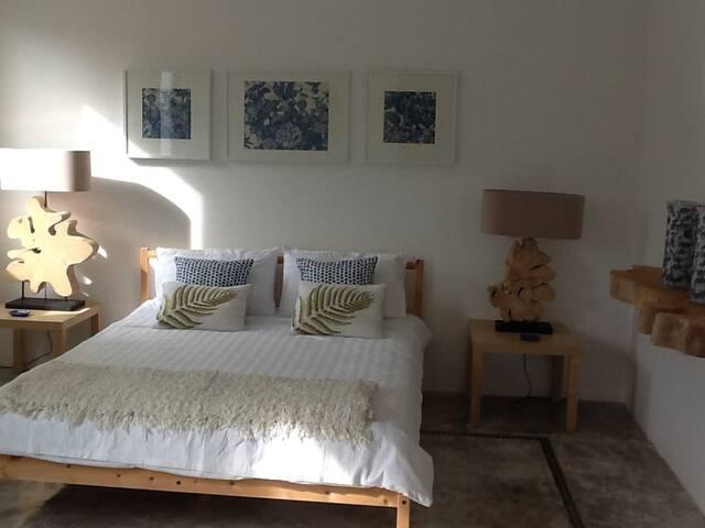 Second bedroom, spacious and comfortable, bathroom en suite