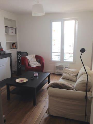 Chambre privée dans appartement 3p