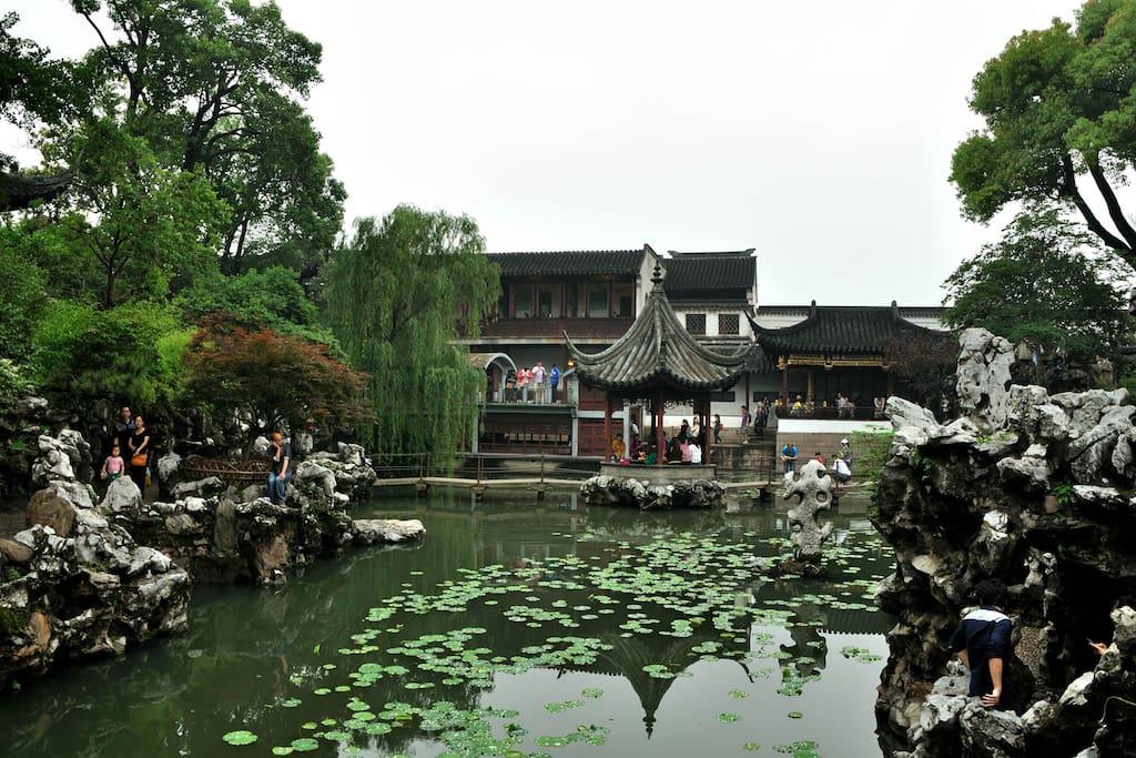 苏州园林和苏州古城建筑相得益彰