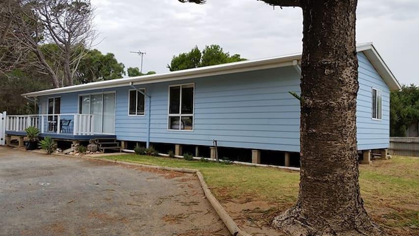 The Blue Beach House!