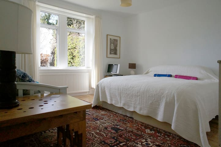 A Super King-sized bed (or two singles)