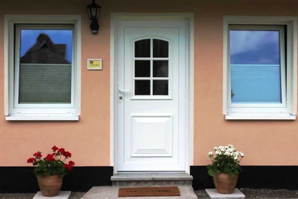 Herzlich willkommen im kleinen Ferienhaus.