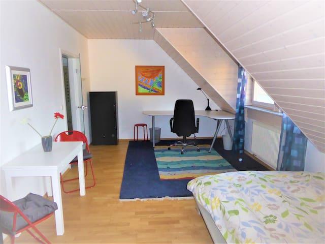 Wohnung im Grünen für Nürnberg Messe und Urlaub