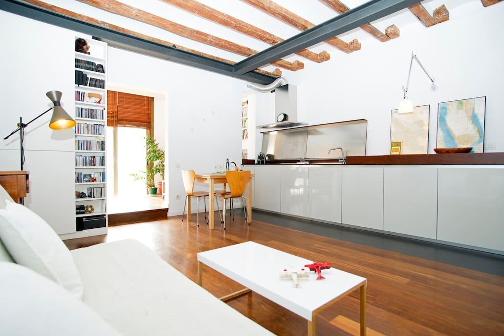 Cozy Modern Flat Near Paseo De Gracia Apartments For Rent In Barcelona Catalonia Spain