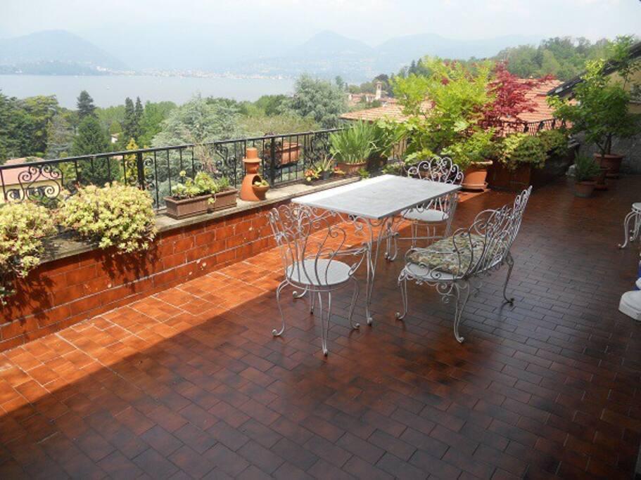 La terrazza. Qui potrai consumare il breakfast