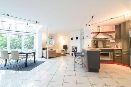 Exklusive 3,5 Zimmer - Maisonette - Wohnung - Heidelberg - Selveierleilighet