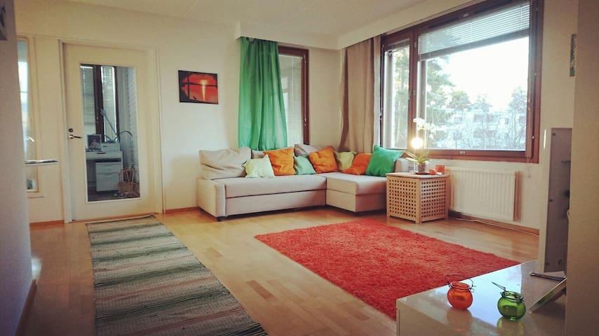 Beautiful 3 rooms 90m2 + balcony near Helsinki
