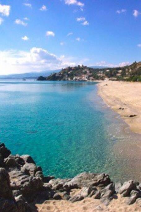 Beach of Caminia