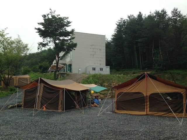 Camping site open! Come to enjoy! - Jucheon-myeon, Yeongwol-gun