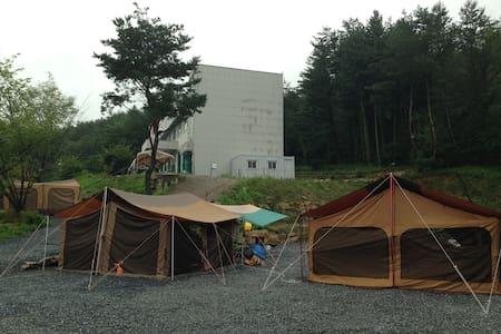 Camping site open! Come to enjoy! - Jucheon-myeon, Yeongwol-gun - Telt