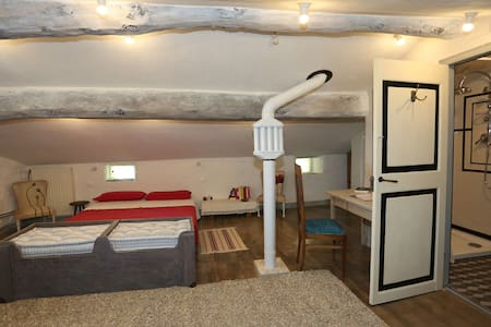 b&b orti érti    attic room with private bath - Neirone - Bed & Breakfast