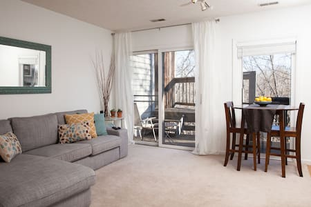 Cozy Condo near the Lake - Bloomington - Apartment
