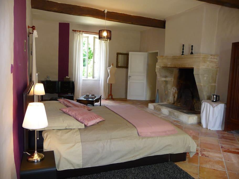 Chambre Bordeaux Manoir de Gaboria