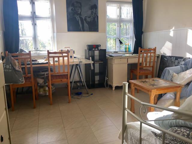Kreativ værelse hos Fotografen