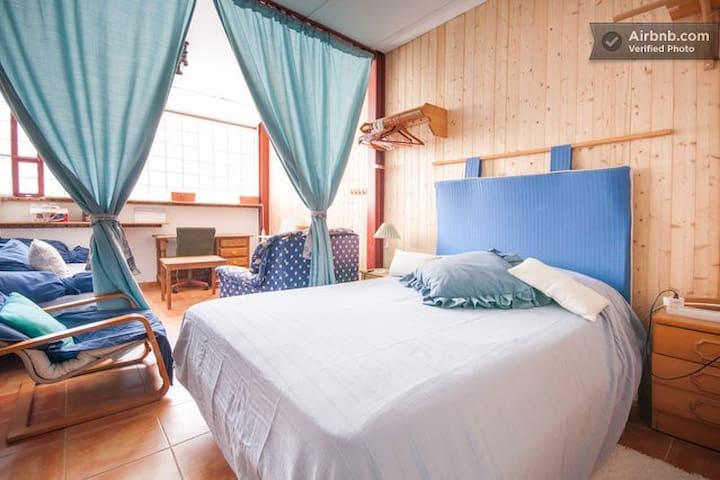 Room SKY  Alcalá de Henares_Madrid - Alcala de Henares - Casa