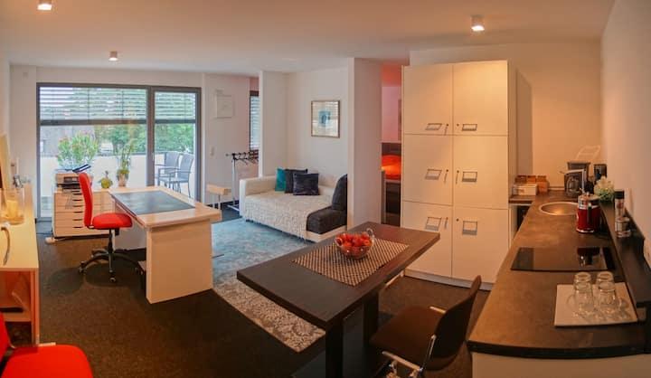 Modernes Appartement mit 45 qm.