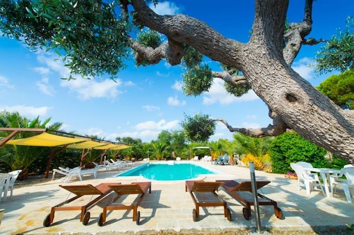 Bed & Breakfast in Puglia Triple ensuite bedroom - Castellana Grotte - Bed & Breakfast
