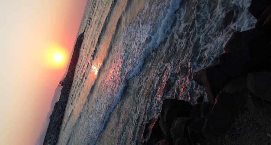 Güzelçamlı denize 5 dk yürüme mesafesnde müstkl ev