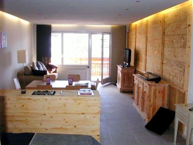 Loft,Crans-Montana centre,sauna
