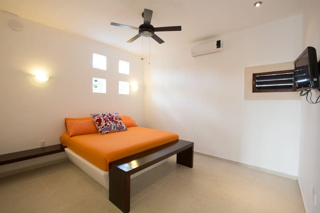 Canela's bedroom at Cozumel Suites&Apartments Rentals