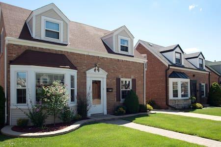 Charming home near O'Hare & CTA - Σικάγο