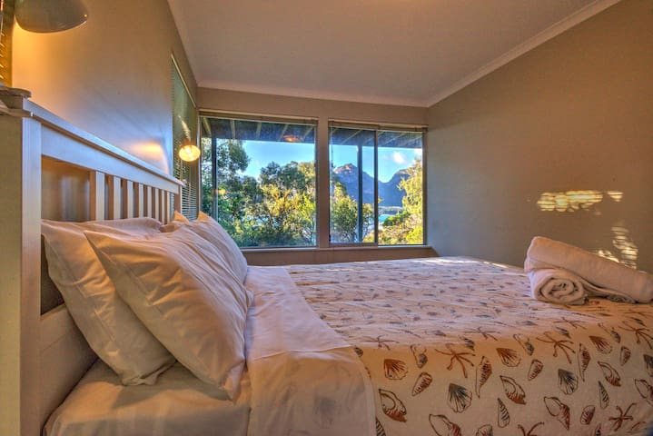 Main bedroom with stunning views