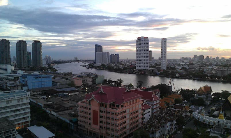 Near Kaosan Road guest house/friend - Bangkok - Apartemen