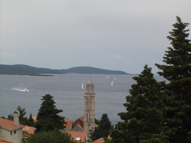 Amazing view sea and islands - Hvar - Apartment