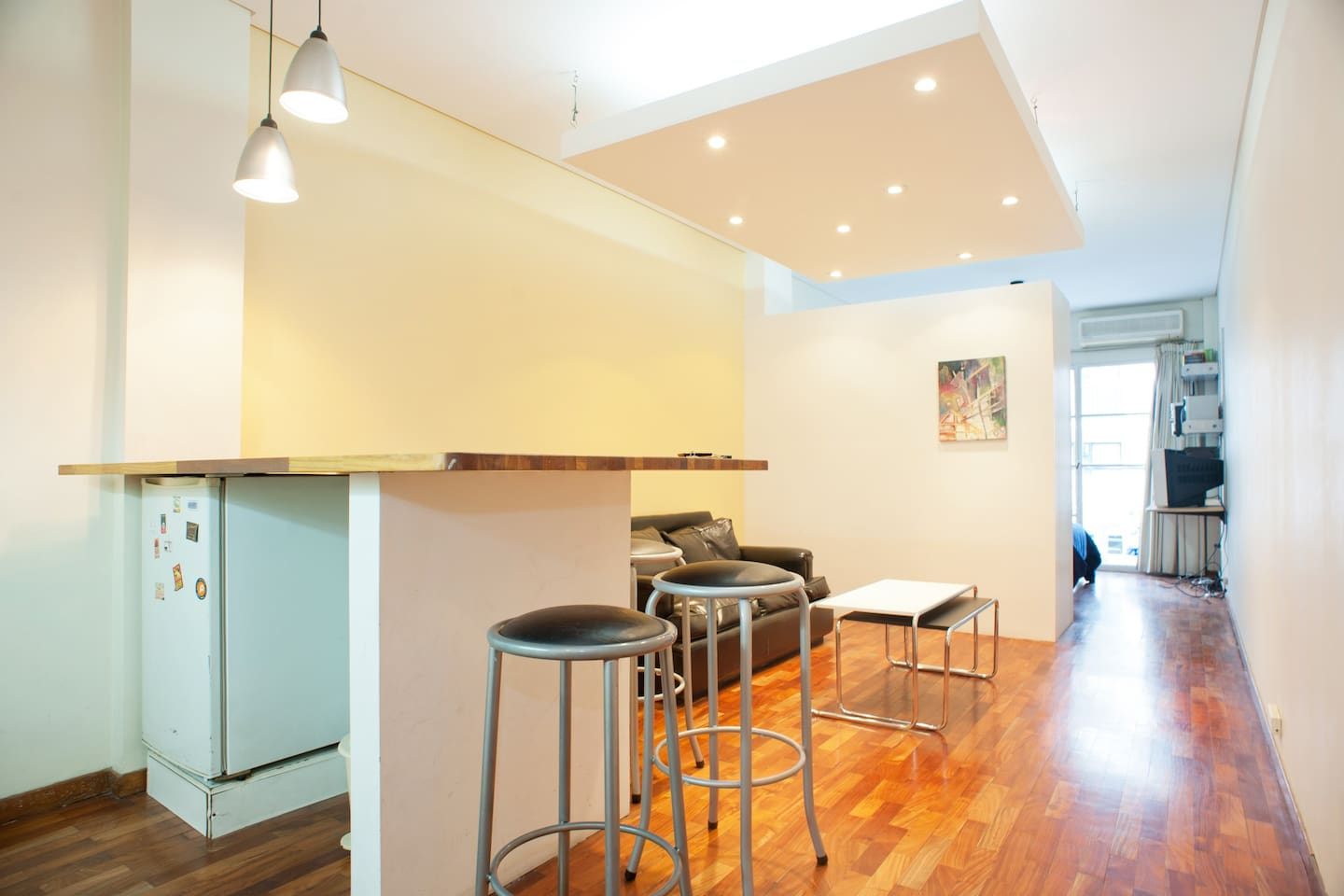 Bright studio with everything you need to have a perfect stay!