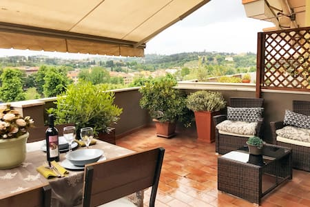 PENTHOUSE Panoramic Terrace, 2Bd 2Ba, Lift, Garage