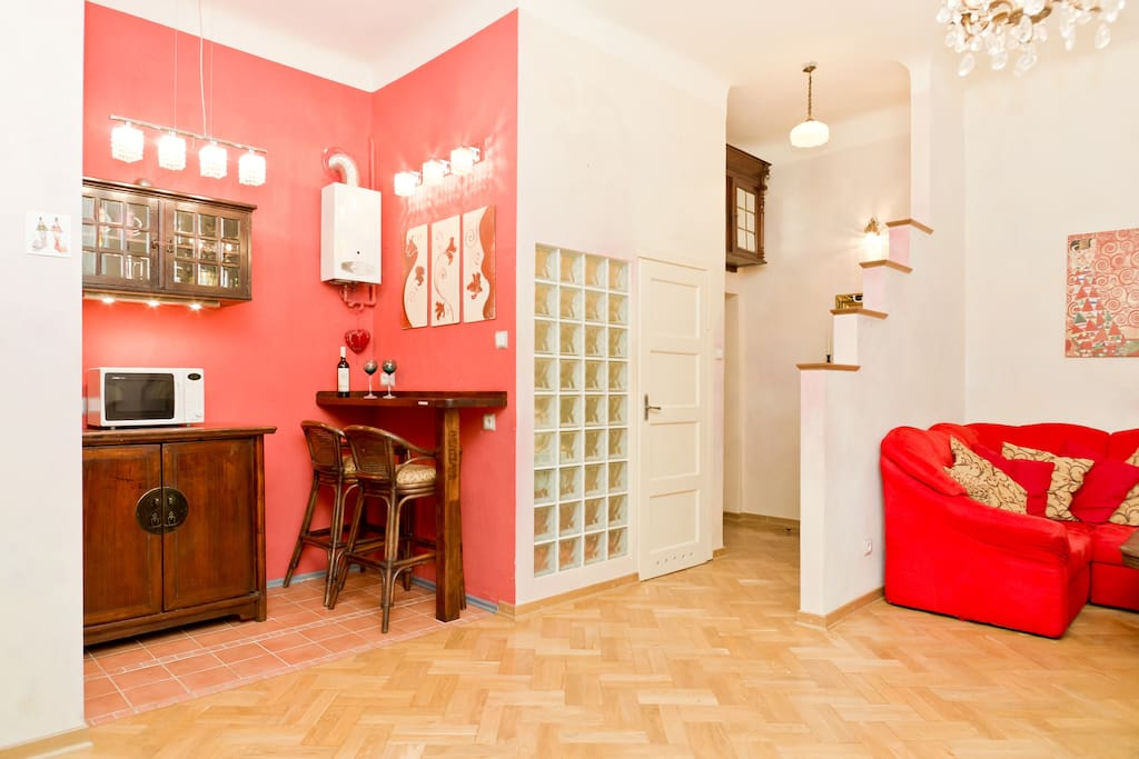In this lovely and stylish apartment you can find comfort and genuine quality