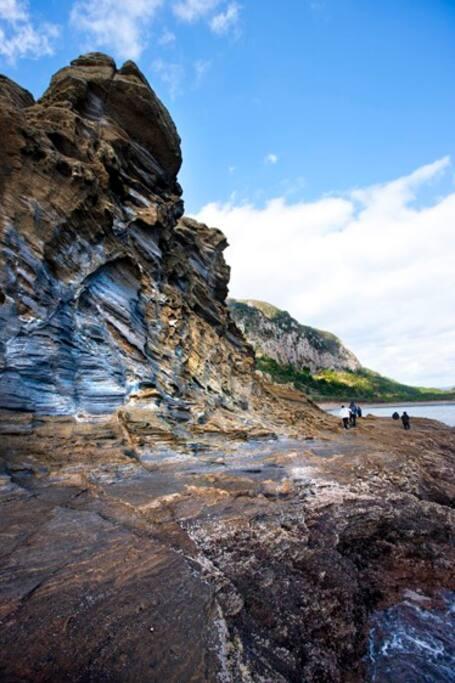 yongmeori cliffs