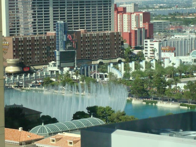 Vdara suite(Bellagio fountain view) - Las Vegas