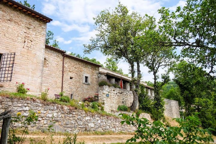 15C San Flaviano Private Monastery Perugia, Umbria