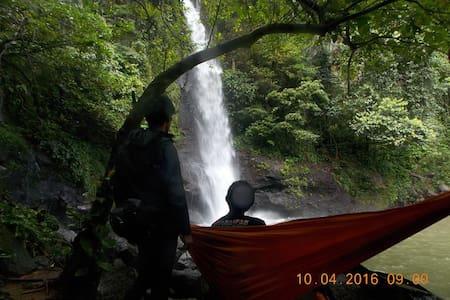Tenda di Air Terjun