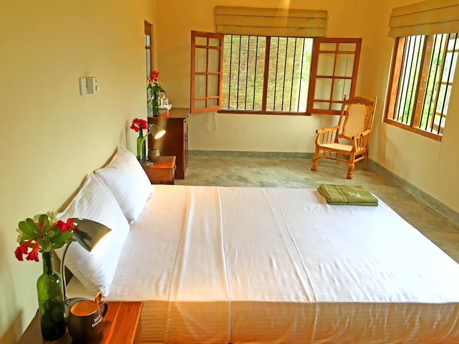 Master Bed room with quieween comfortable bed with amazing v