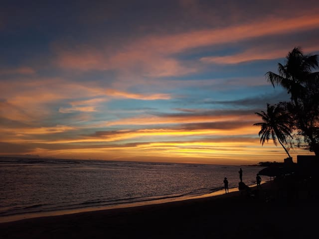 Beach front cabana on Juan Dolio beach