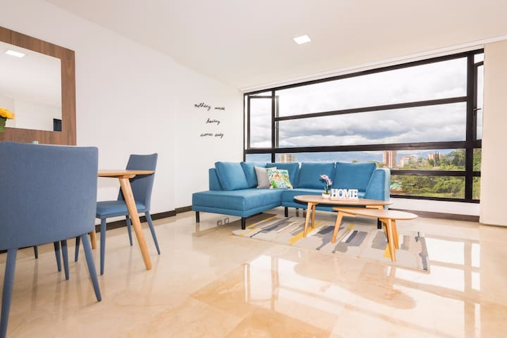 2BD apartment with AMAZING VIEW