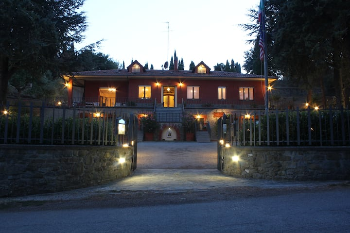 Parterre Rooms, green nature, walking distance