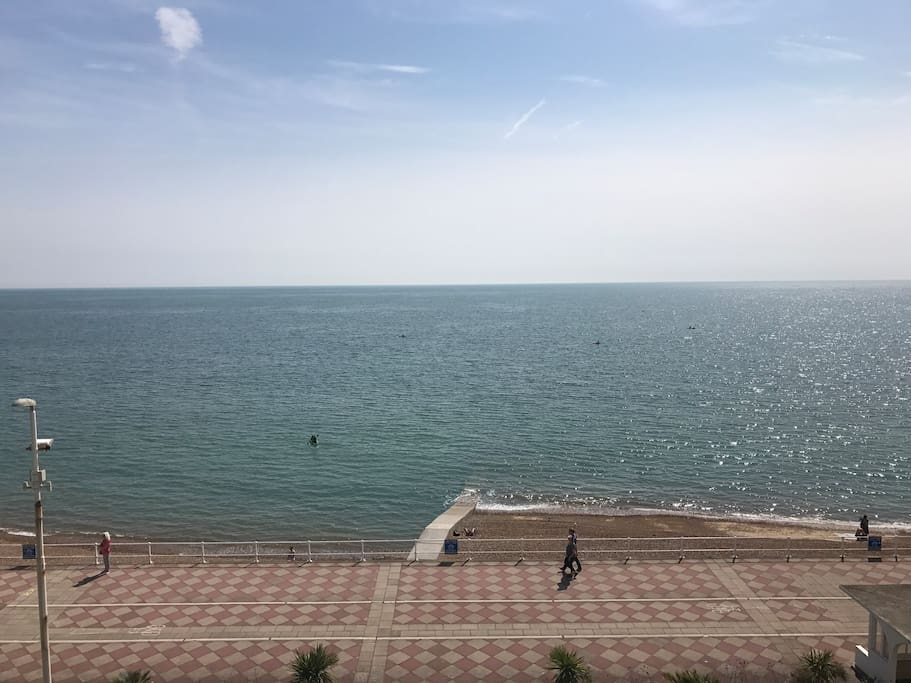 Direct sea views