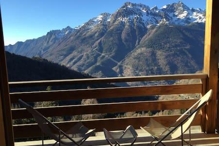 Alpe d'Huez,OZ, Comme un chalet-duplex, 3 chambres - Oz