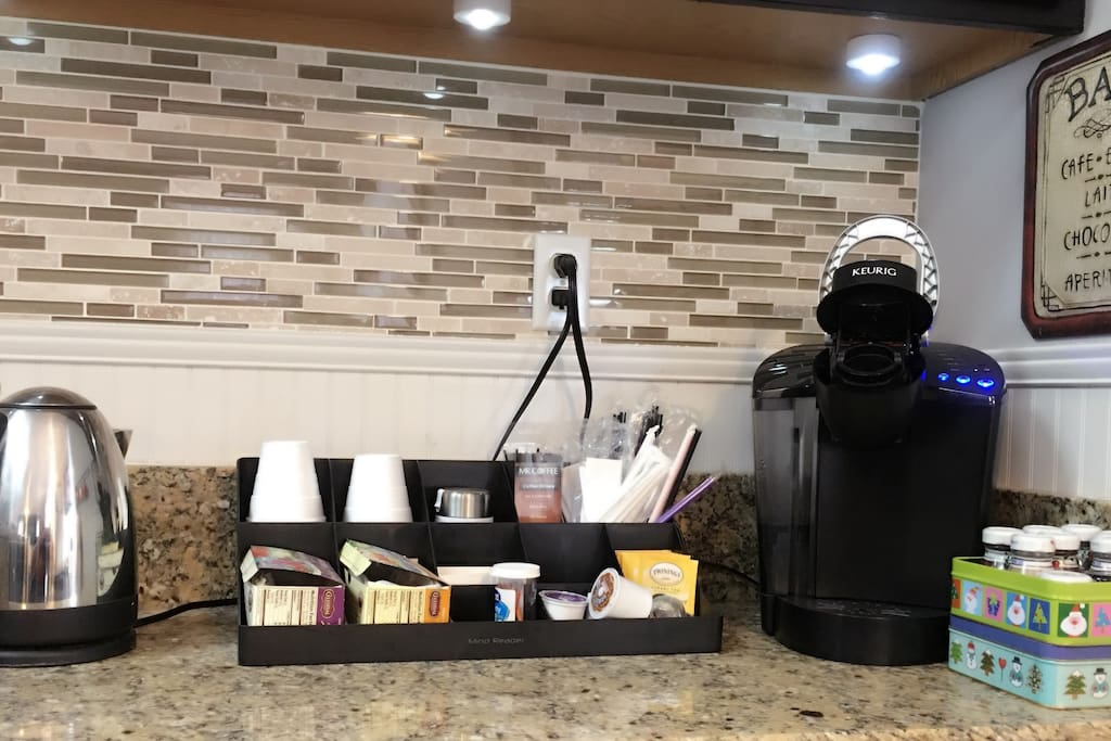 Guest Coffee Station