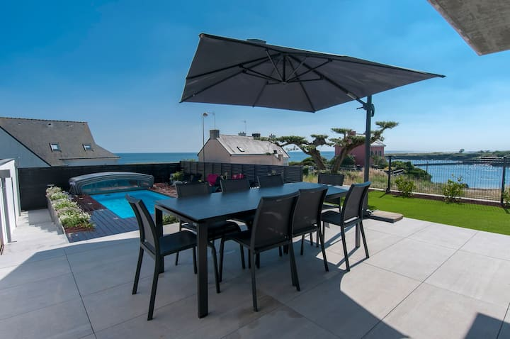 villa 5* avec piscine et SPA face mer
