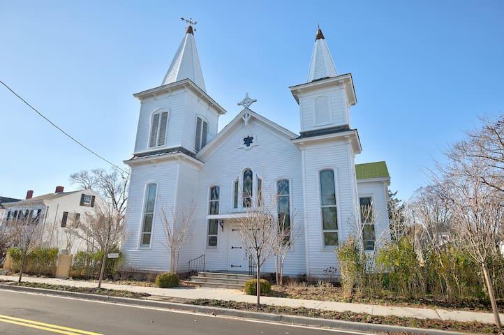 Unique 1880 Church converted into luxury Home