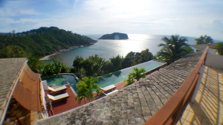 Breathtaking views & relaxing at Lord Jim Retreat