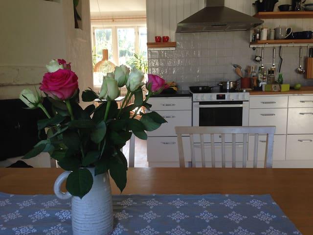 Köket delas med hushållet