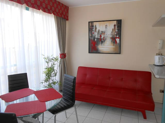 Premium apartment, rest- business beach cavancha - Iquique - Lägenhet