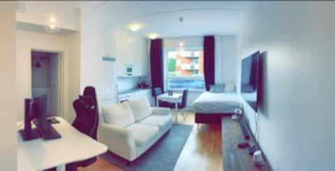 1a 34 kvadrat hela lägenheten. Gränby Uppsala view