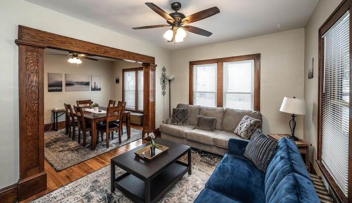 Cozy Apt. near DT/UofM/River/parks and lakes - 1