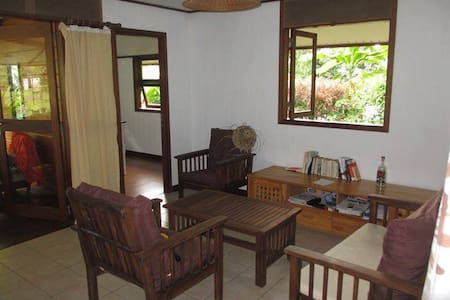 Cosy house fare in French Polynesia - 'Ārue